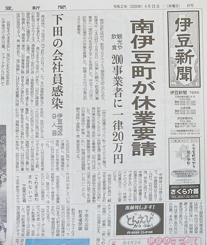 市 コロナ 下田